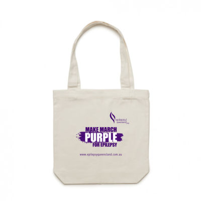 Purple Day Canvas Bags Thumbnail